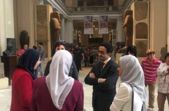 هكذا وصف مدير مكتب ولي العهد متحف القاهرة - المواطن