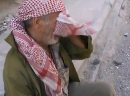 مسن سوري