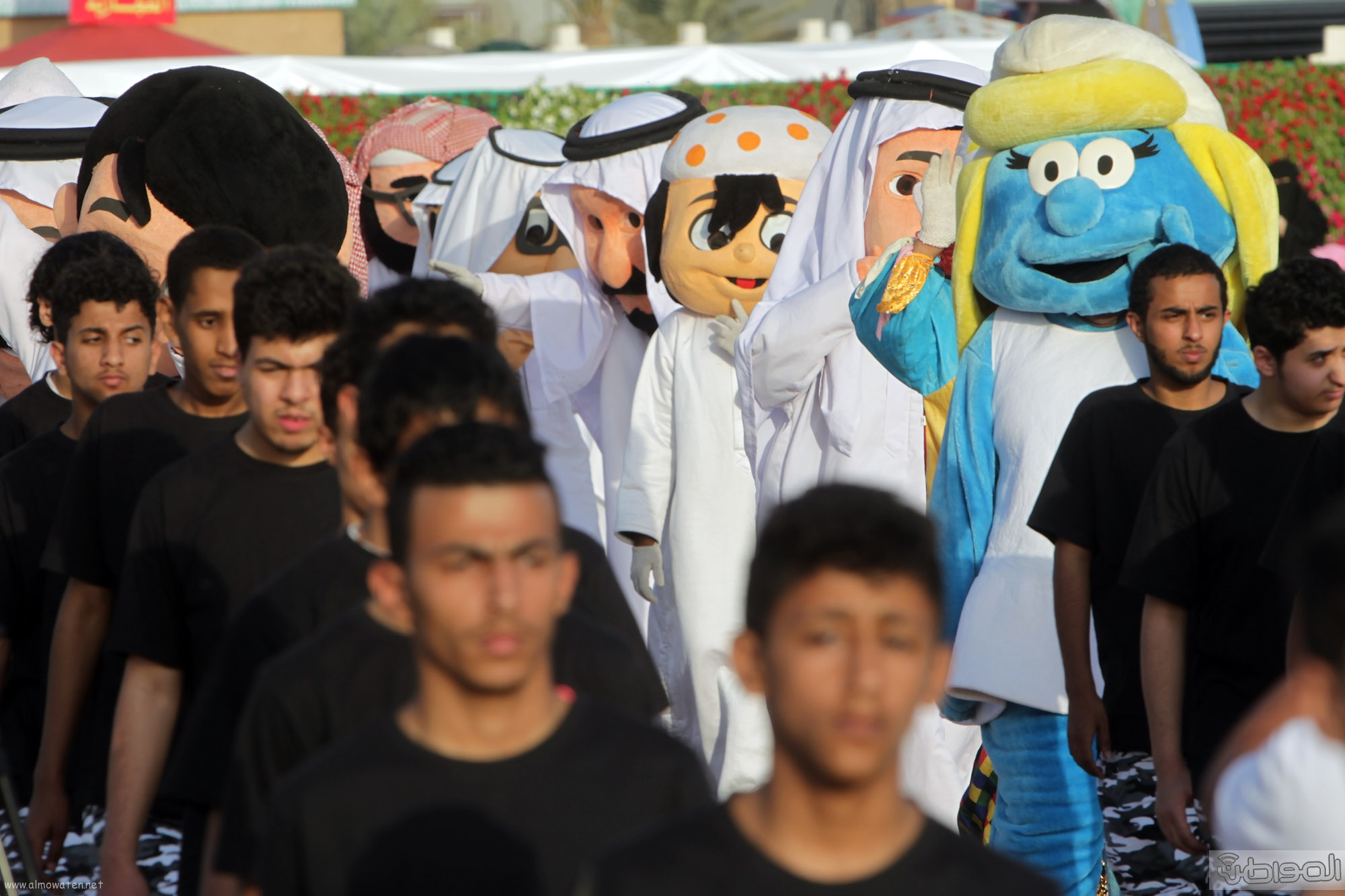 """بالصور .. هذا ما رصدته عدسة """"المواطن"""" من مهرجان ربيع الرياض"""