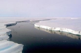 تصدعات في القارة القطبية الجنوبية