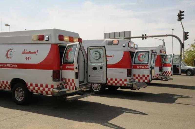 إصابة 8 في تصادم شمال كوبري وادي ستارة في جدة