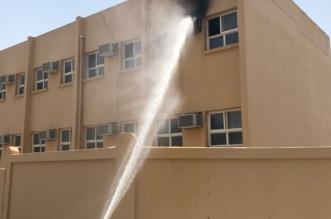 هكذا نجا 65 طالبًا من حريق مكيف مدرسة في قنا - المواطن