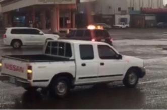 إخماد وسحب وعزل.. مدني المهد ينقذ محطة وقود من كارثة - المواطن