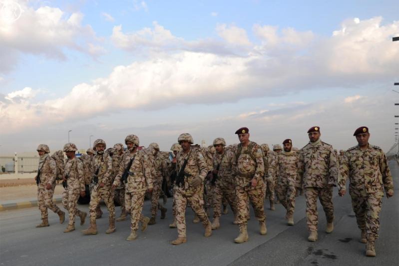 قوات الأمن الخاصة ترفع لياقة ضباطها بمشروع السير الطويل6