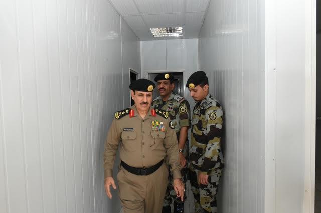 الفريق #المحرج يتفقد مواقع الأمن العام بـ #مكة6