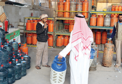 أزمة الغاز جدة