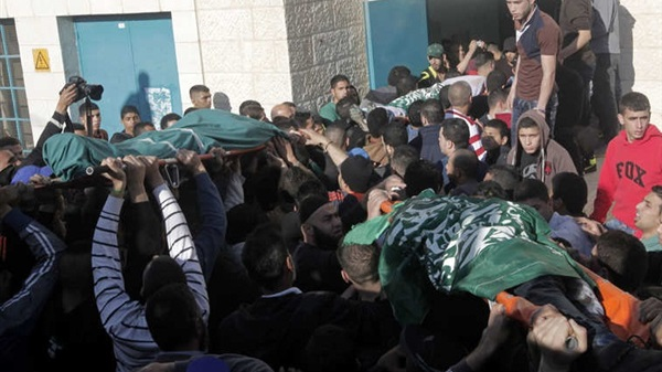 استشهاد 10 فلسطينين - غزه