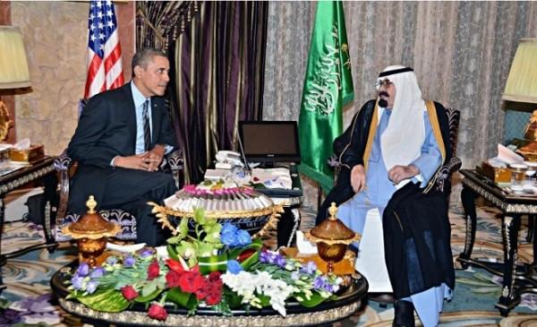 اوباما والملك عبدالله