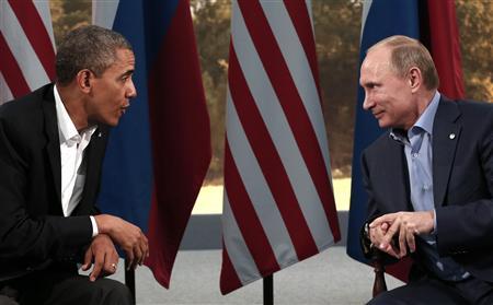 اوباما يلتقي بوتين اثناء قمة مجموعة/20 لكن من غير المؤكد ان يعقدا اجتماعا ثنائيا