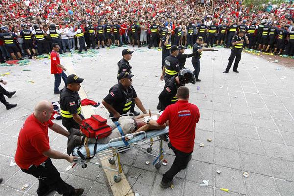 الاحتفالات تعم شوارع كوستاريكا رغم توديع المونديال - المواطن