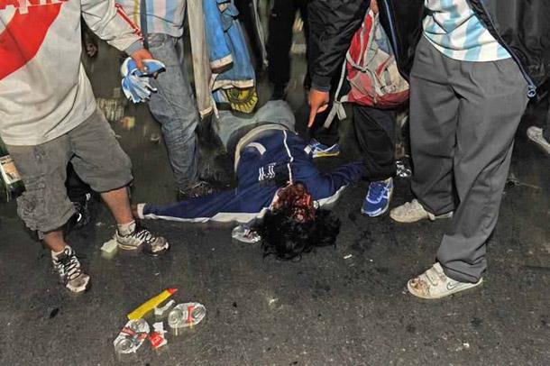 بالصور..30معتقلا و20 مصابا في بوينوس آيرس عقب خسارة الأرجنيتن للمونديال - المواطن