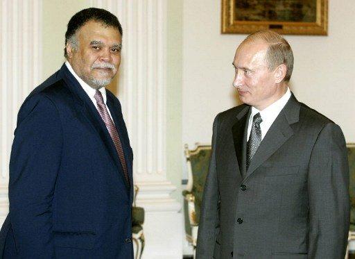 بندر بن سلطان يلتقي بوتين وأزمة سوريا محور نقاش لأكثر من ساعة - المواطن