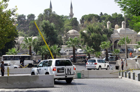 خبراء نزع الأسلحة الكيماوية - دمشق