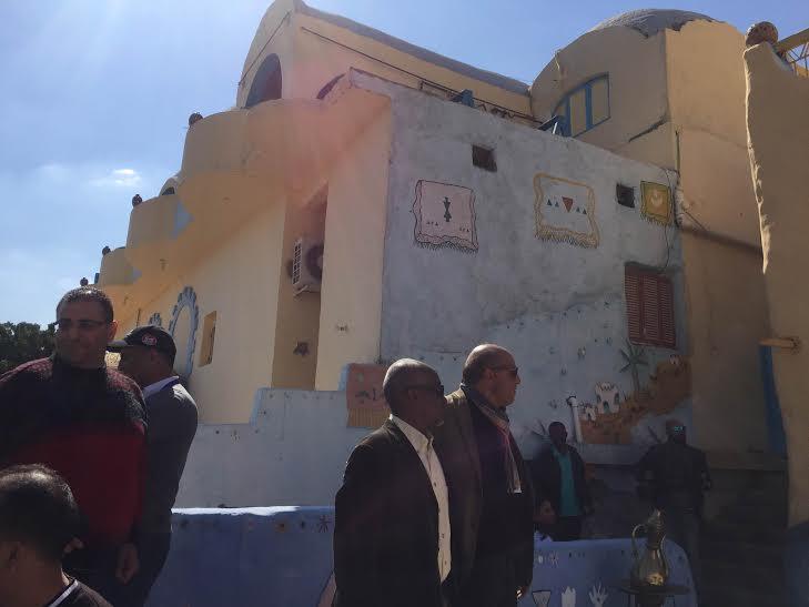 بالصور.. وفد الإعلام العربي السياحي يبدأ أولى جولاته بـ #أسوان66
