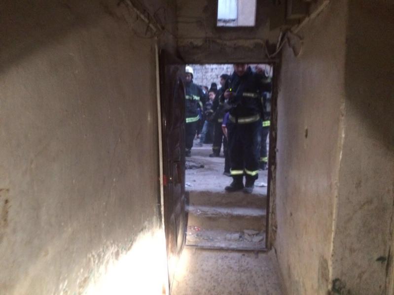 حريق منزل بالمدينة المنورة66