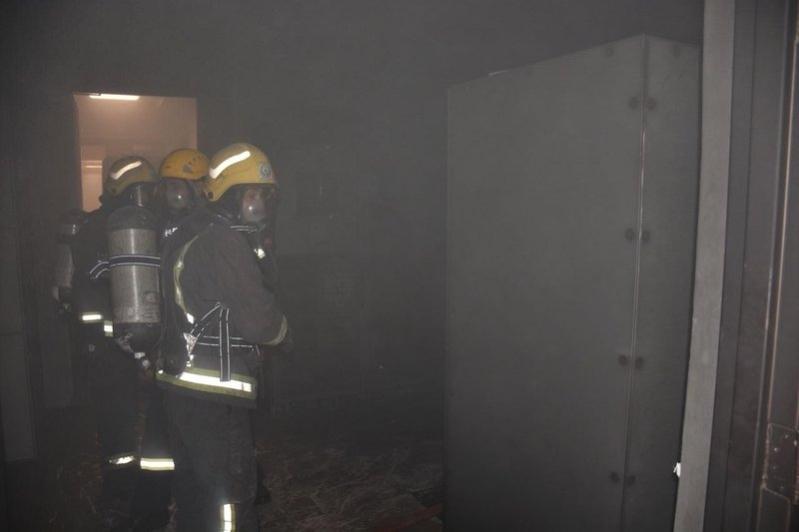بطاريات UBS وراء حريق جامعة المؤسس