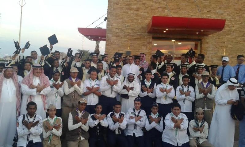 #البيك يبدأ في جازان بتكريم 40 شابًّا سعوديًّا7