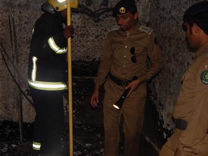 وفاة طفلين اختناقًا إثر حريق منزلهما بـ #العارضة7