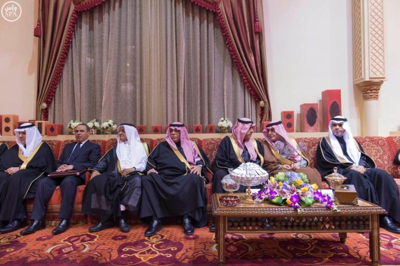 جانب من استقبال خادم الحرمين الشريفين للرئيس الفلسطيني 7