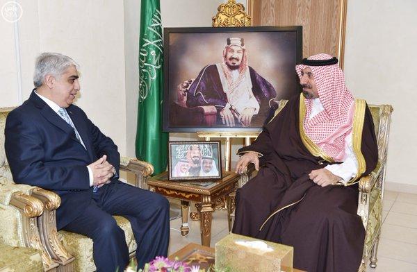 أمير نجران يستقبل القنصل العام لجمهورية باكستان الإسلامية7