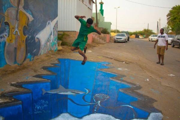 بالفيديو والصور رسومات تزيّن منازل شامية جازان صحيفة