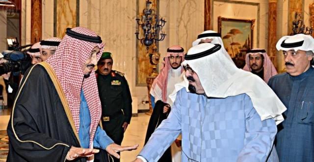 الملك عبدالله و سلمان