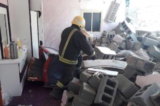 بالصور.. مدني المدينة المنورة يكشف تفاصيل وفاة طفلتين إثر سقوط جدار منزل - المواطن