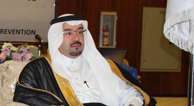 عبدالإله بن محمد الشريف الأمين العام للجنة الوطنية لمكافحة المخدرات