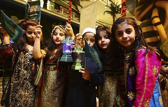 القرقيعان في السعوديه