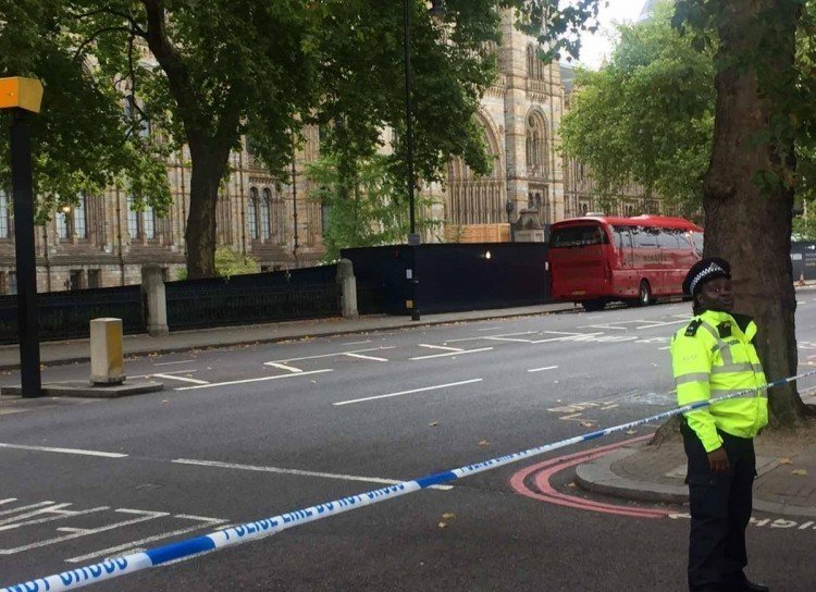 حادث دهس وسط لندن وضبط المشتبه به