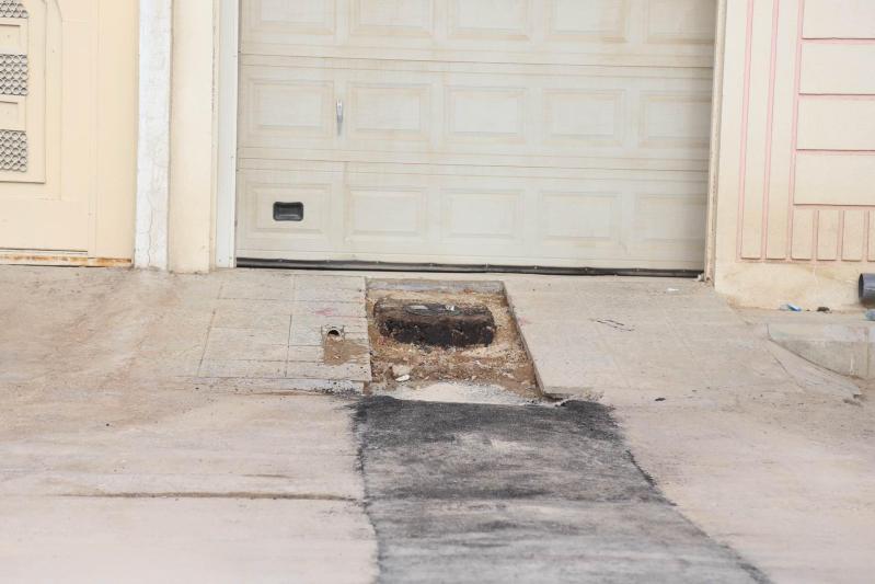 مواطنون بعريجاء #الرياض : تمديدات الصرف تمر بجوارنا.. والشركة تتجاهلنا77