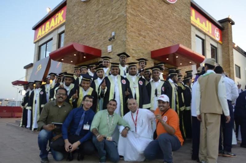 #البيك يبدأ في جازان بتكريم 40 شابًّا سعوديًّا777