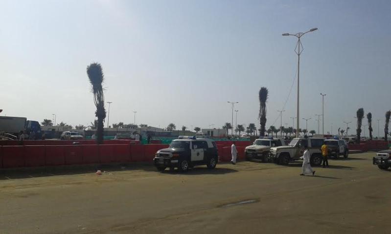 #البيك يفتتح أبوابه لزبائنه في #جازان وسط إجراءات مشددة777