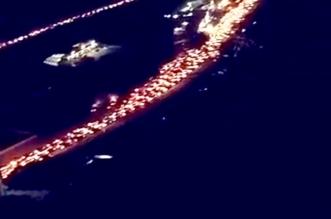 مشكلات طريق الموت.. حادث سير بسيط يشل حركة المرور ٩ ساعات بعقبة ضلع - المواطن