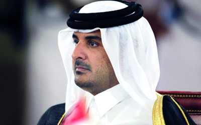 رئيس دولة قطر