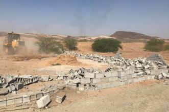 إزالة 400 ألف متر تعديات بمركز حميد العلايا في محايل - المواطن