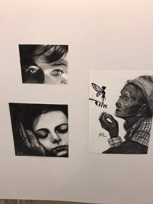 بالصور.. مرضى الكلى يعبرون عن آمالهم في معرض فني بعسير - المواطن