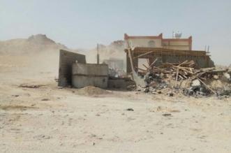بالصور .. استعادة 500 ألف متر2 من أراضي الدولة غرب المجاردة - المواطن