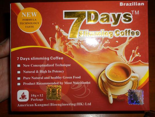 7Days Slimming Coffee
