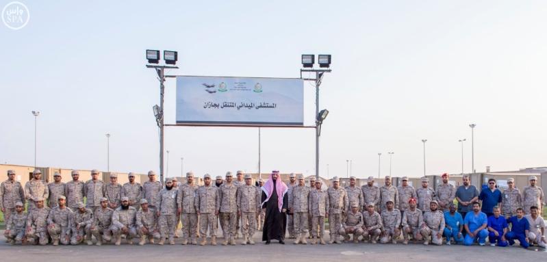 8سمو ولي ولي العهد يزور المستشفى الميداني المتقدم للقوات المسلحة