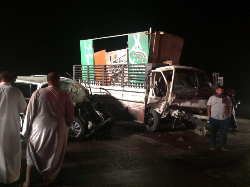 ١٠ إصابات في حادث شنيع على طريق ينبع القديم8