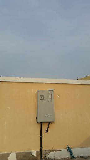 """أمانة #جدة تعيد الكهرباء لمقبرة بني مالك بعد تقرير """"المواطن""""8"""