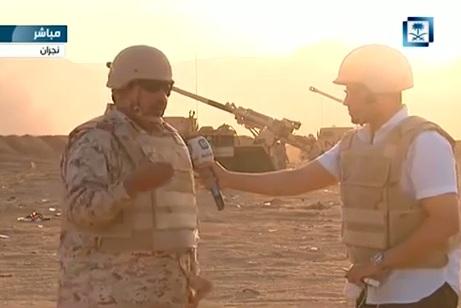 مدفعية الحرس الوطني بنجران تقصف على الهواء معاقل الحوثيين
