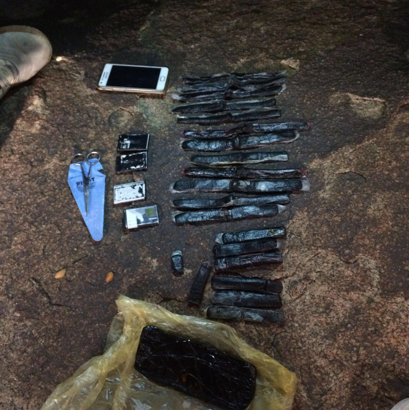 بالصور.. القبض على عصابة إثيوبية تروج الخمور في جبال نيرا