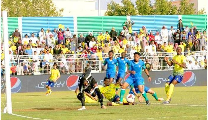 """أعلنت لجنة المسابقات بالاتحاد السعودي لكرة القدم، رسمياً، إعادة مباراة """"الشعلة"""" و""""النصر"""""""