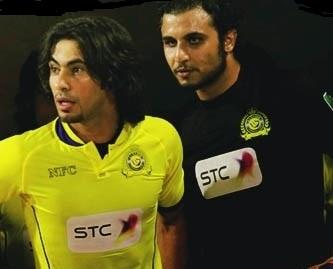حسين عبدالغني وعبدالله العنزي