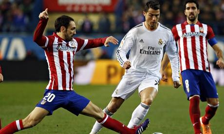 ريال مدريد في مهمة صعبة أمام أتلتيكو مدريد
