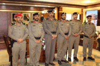 تقليد عدد من الضباط رتبة مقدم في تبوك - المواطن