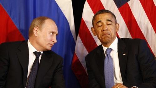 """أوباما يصف """"بوتين"""" بالغبي"""