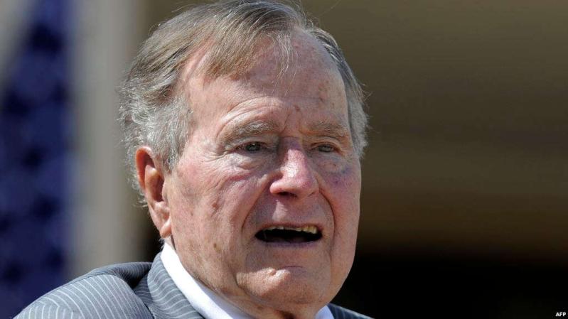 الكلمات الأخيرة لجورج بوش قبل رحيله